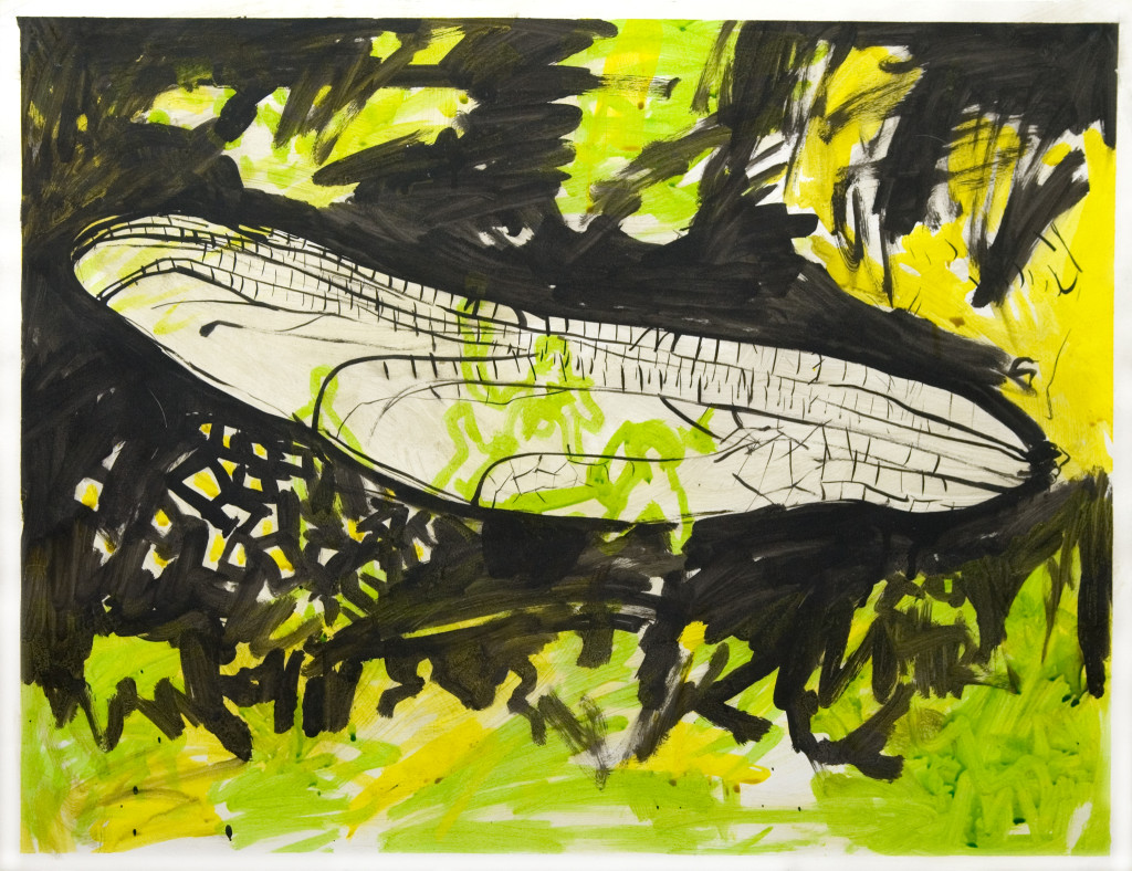 32 - Untitled (2009) - 65cm x 50cm - acrylic and indian ink on paper