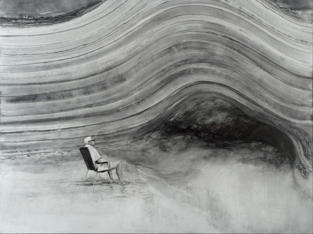 116 - Felixfrompalavas I (2014) - 140cm x 104.5cm - graphite, on primed wooden panel