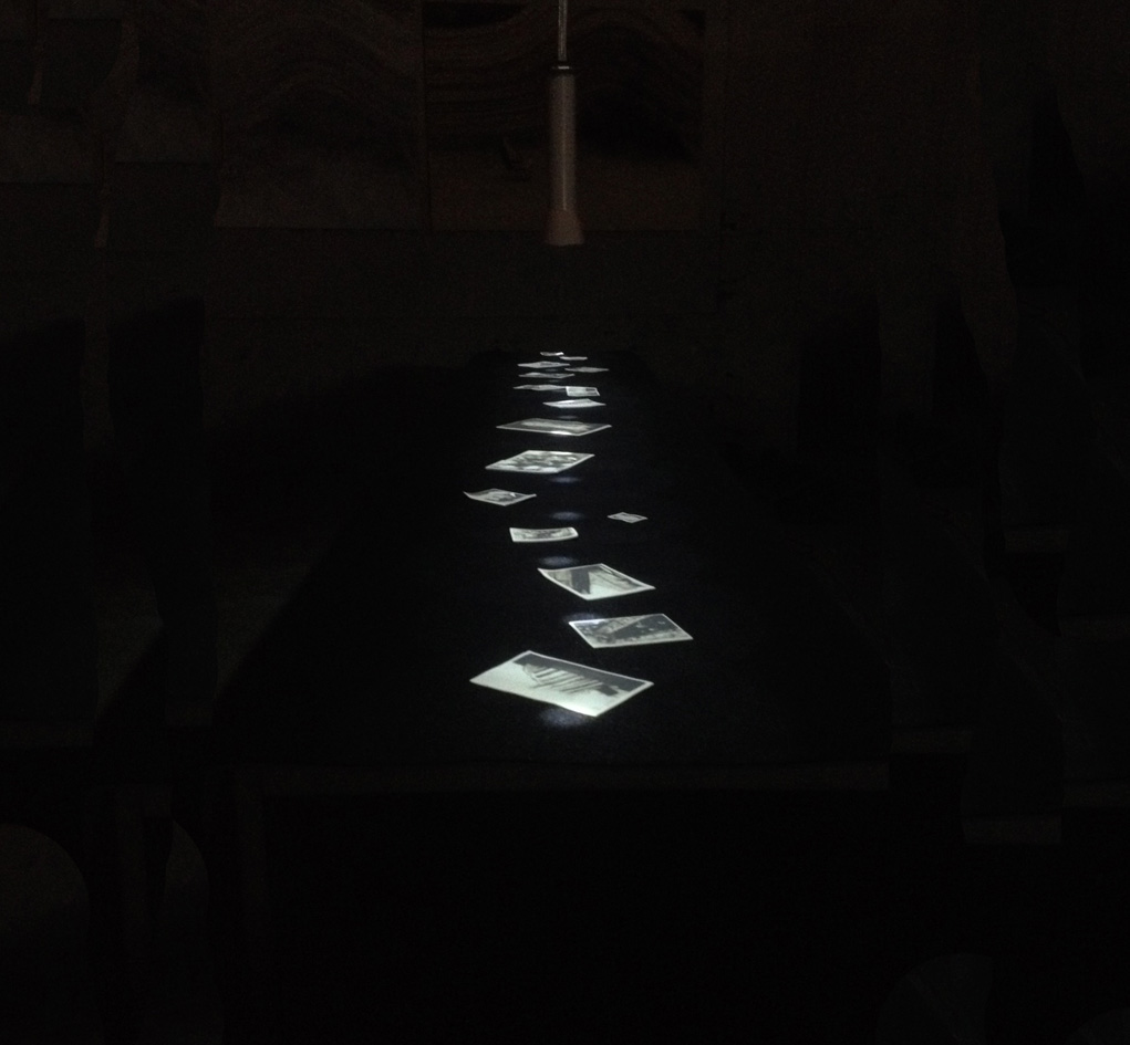 Concordia Album installation for Hors Circuit, Montpellier july 2014