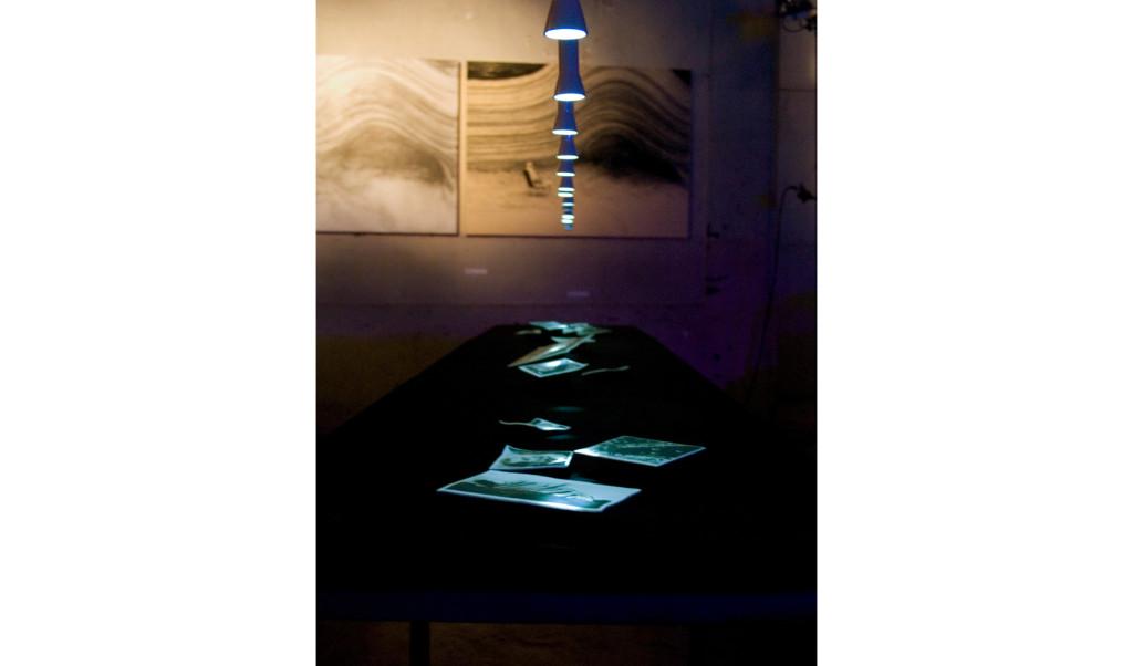 Concordia Album installation for Hors Circuit, Montpellier july 2014
