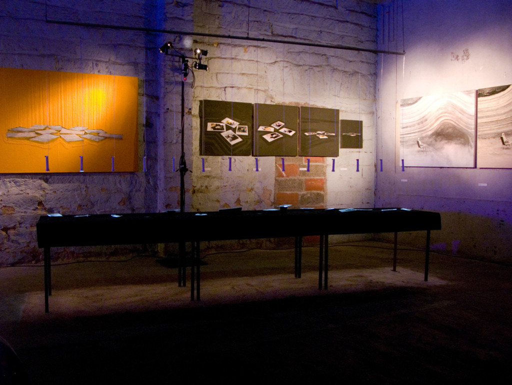 161d - Concordia Album installation for Hors Circuit, Montpellier july 2014